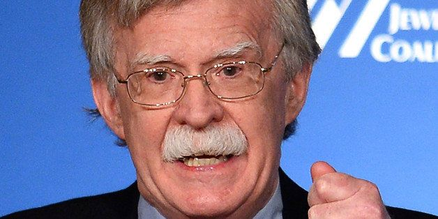 LAS VEGAS, NV - MARCH 29:  Former United States ambassador to the United Nations John Bolton speaks during the Republican Jew