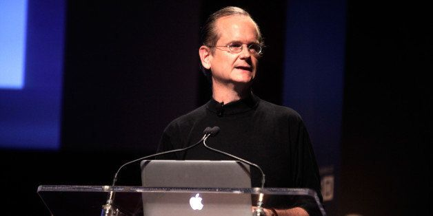 NEW YORK, NY - MAY 13:  Director Amazon Studios, Lawrence Lessig speaks at WIRED BizCon 2014  on May 13, 2014 in New York Cit
