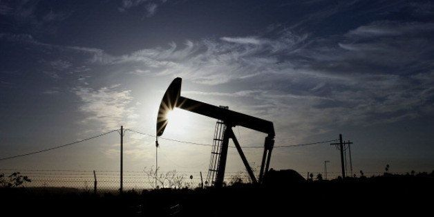 A pumpjack operates at the Inglewood Oil field in Los Angeles, California, U.S., on Thursday, Oct. 19, 2012. The Inglewood Oi