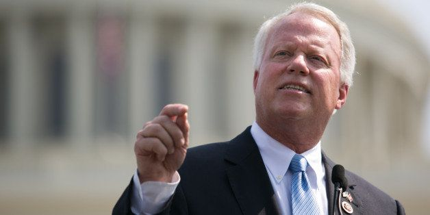 WASHINGTON, DC - SEPTEMBER 10:  U.S. Rep. Paul Broun (R-GA) speaks during the 'Exempt America from Obamacare' rally,  on Capi