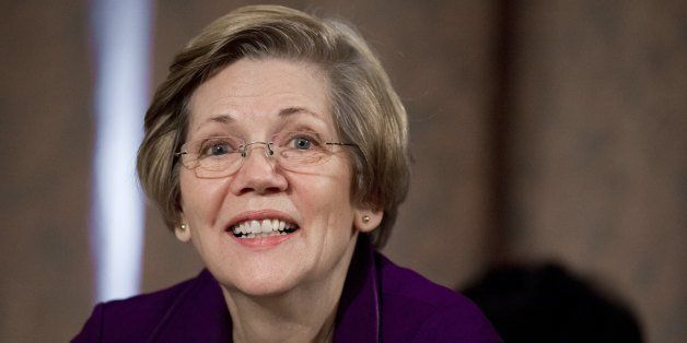 US Democratic Senator Elizabeth Warren of Massachusetts attends a Senate Banking, Housing and Urban Affairs Committee hearing