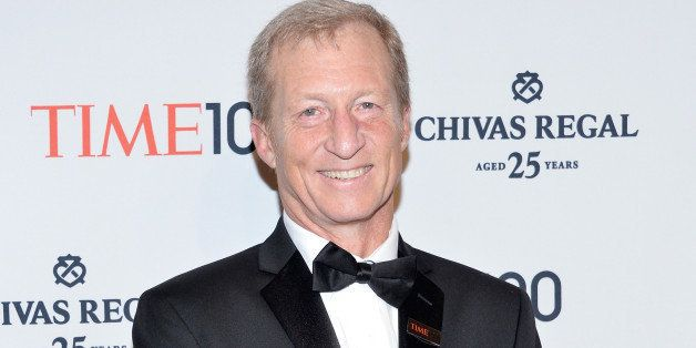 NEW YORK, NY - APRIL 29:  Honoree Tom Steyer attends the TIME 100 Gala, TIME's 100 most influential people in the world, at J