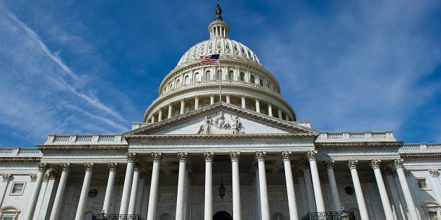 The dome of the US Capitol is seen in Washington, DC on March 23, 2013. AFP PHOTO / Karen BLEIER (Photo...