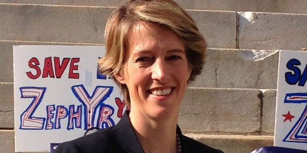 Zephyr Teachout Fights For Recognition Against 'Machine