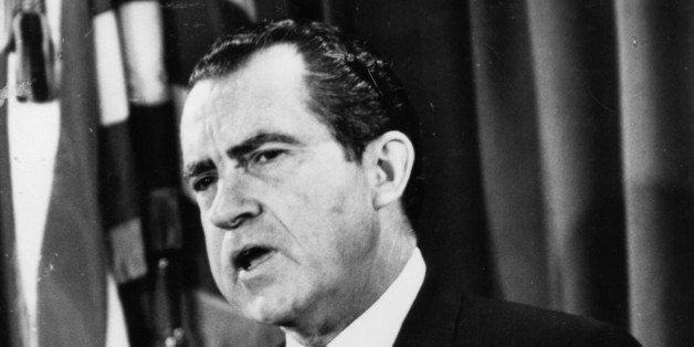 (FILE PHOTO) In this composite image a comparison has been made between former US President Richard Nixon and his serving Sec