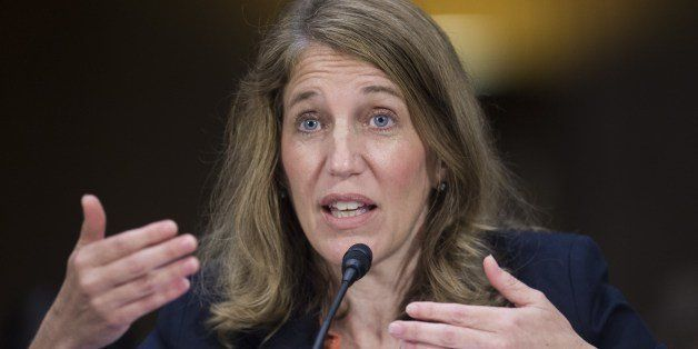 US Secretary of Health and Human Services Sylvia Matthews Burwell testifies on funding requests for US border security and im