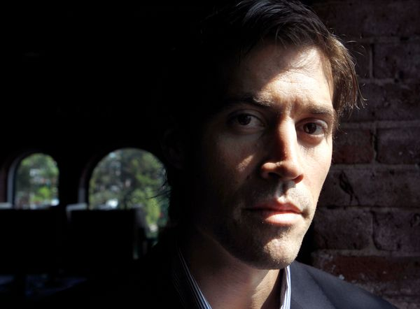 FILE - In this May 27, 2011 file photo American Journalist James Foley, of Rochester, N.H., poses for a photo in Boston. The