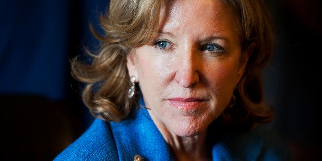 UNITED STATES - JULY 22: Sen. Kay Hagan, D-N.C., conducts a meeting in the Senate Reception Room of the Capitol, July 22, 201