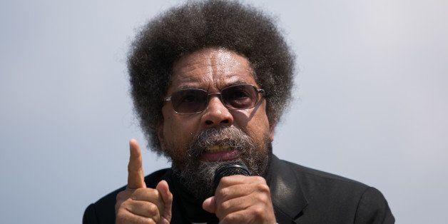 WASHINGTON, DC - SEPTEMBER 11: Activist Cornel West speaks during what was planned to be the 'Million American March Against