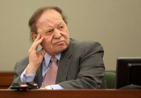 """Adelson is the owner of The Venetian in Las Vegas and the Israeli daily newspaper """"Israel HaYom."""" <br>"""