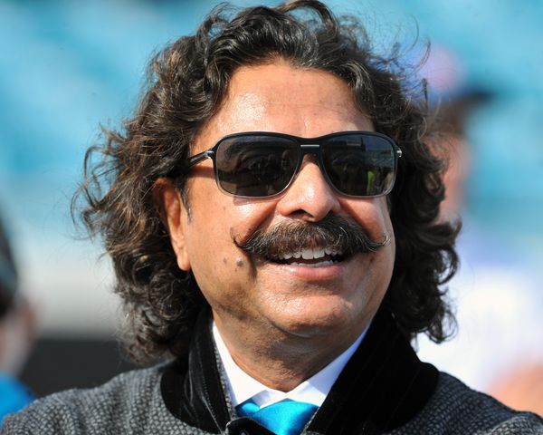 Khan is the owner of the Jacksonville Jaguars.