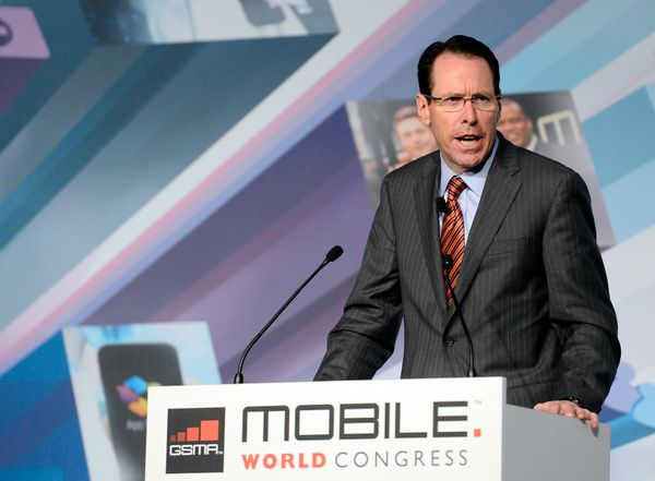 (Pictured: Randall Stephenson, chairman, president and chief executive officer of AT&T)