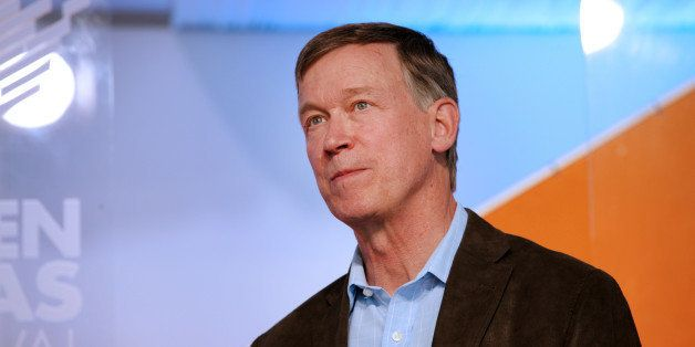 John Hickenlooper, governor of Colorado, speaks during the Aspen Ideas Festival in Aspen, Colorado, U.S., on Tuesday, July 1,