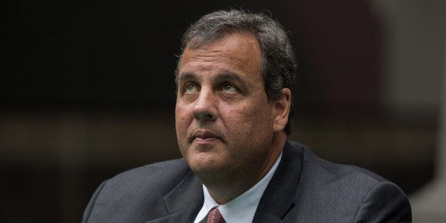 Chris Christie, governor of New Jersey, listens during a ceremony to mark the signing of an agreement on higher education in Mexico City, Mexico, on Thursday, Sept. 4, 2014. Christie used the first day of a trip to Mexico to call for an end to the 39-year-old U.S. ban on crude oil exports and approval of TransCanada Corp.'s stalled Keystone XL pipeline. Photographer: Susana Gonzalez/Bloomberg via Getty Images
