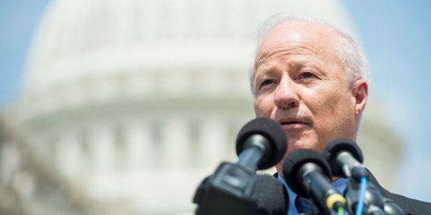 UNITED STATES - MAY 19: Rep. Mike Coffman, R-Colo., speaks during a news conference on military service for undocumented yout
