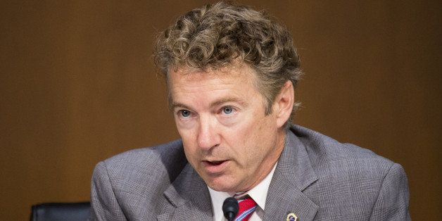 UNITED STATES - SEPTEMBER 17: Sen. Rand Paul, R-Ky., questions Secretary of State John Kerry testifies during the Senate Fore