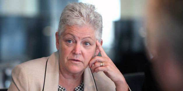 Gina McCarthy, administrator of the U.S. Environmental Protection Agency (EPA), speaks during an interview in Washington, D.C