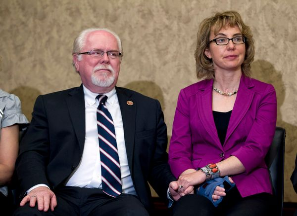Rep. Ron Barber (D) was injured during the Tucson, Arizona, attack that also wounded his boss, then-Rep. Gabrielle Giffords (