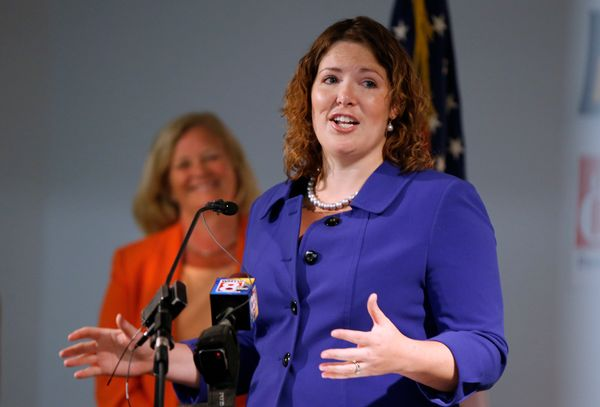 "State Sen. Emily Cain (D) and tea-party-backed businessman and former Maine Treasurer <a href=""https://www.huffpost.com/entry"