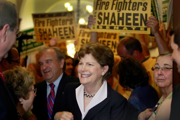 Sen. Jeanne Shaheen (D) is fighting for re-election against former Sen. Scott Brown (R-Mass.).  Democrats have done everythin