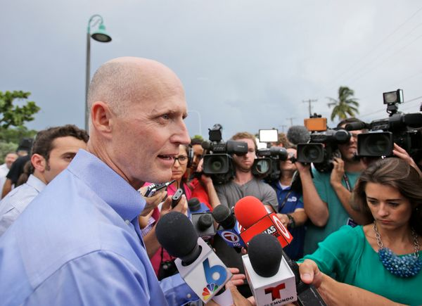 "The <a href=""http://elections.huffingtonpost.com/pollster/2014-florida-governor-scott-vs-crist"" target=""_blank"">close</a> rac"