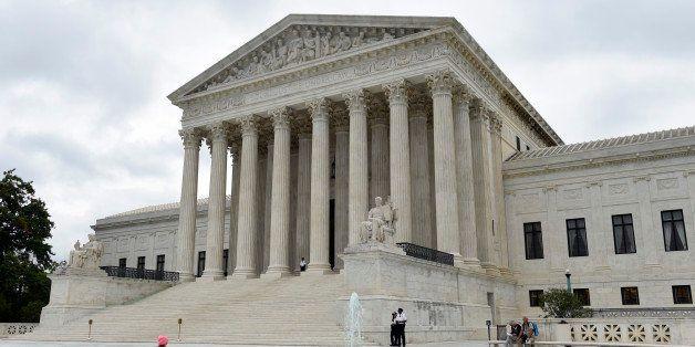 The Supreme Court in Washington, Friday, Oct. 3, 2014. (AP Photo/Susan Walsh)