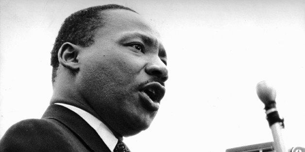 UNITED STATES - APRIL 15: At United Nations Plaza, the Rev. Dr. Martin Luther King Jr. told an estimated 125,000 peace marche