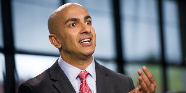 California Republican gubernatorial candidate Neel Kashkari speaks during a Bloomberg West Television interview in San Franci