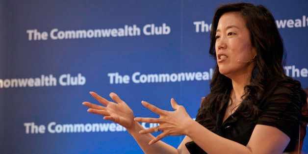 Former Washington, D.C., schools chancellor and author of Radical, Michelle Rhee spoke to The Commonwealth Club of California