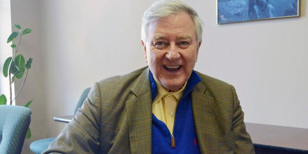 FILE - In this Feb. 6, 2014 file photo, Larry Pressler, who served three terms as a Republican U.S. senator for South Dakota