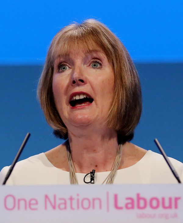 """Her feminist credentials rub many up the wrong way - <a href=""""http://www.huffingtonpost.co.uk/2012/07/23/harriet-harman-conse"""