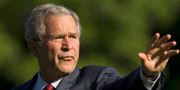 President Bush arrives the White House, Thursday, May 29, 2008, in Washington.  Former White House Press Secretary Scott McCl