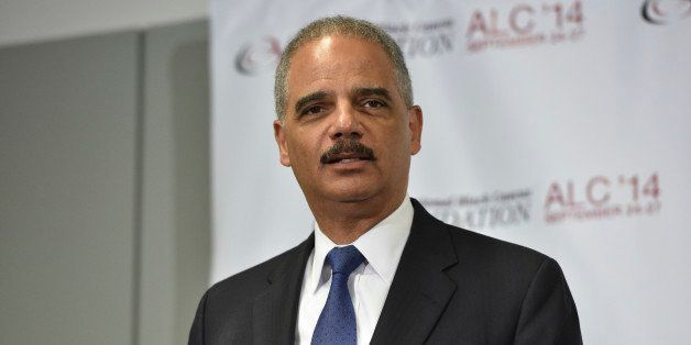 WASHINGTON, DC - SEPTEMBER 26:  Attorney General Eric Holder speaks at the Voting Rights Braintrust at the Congressional Blac