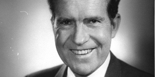 Former Vice President Richard Nixon announced February 1, 1968, in an open letter to the citizens of New Hampshire that he wo