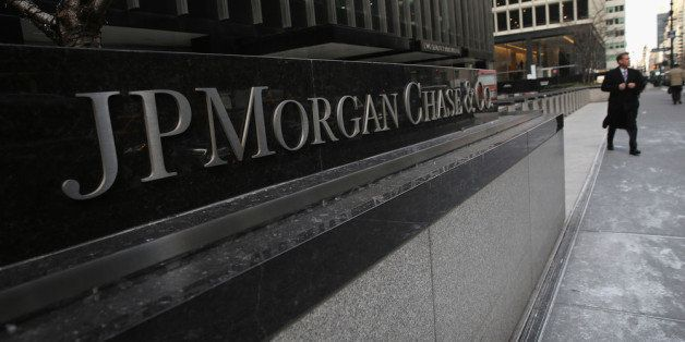 NEW YORK, NY - JANUARY 08:  The JPMorgan Chase headquarters stands in Midtown Manhattan on January 8, 2014 in New York City.