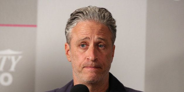 TORONTO, ON - SEPTEMBER 08:  Director/Writer/Producer Jon Stewart attends the Variety Studio presented by Moroccanoil at Holt