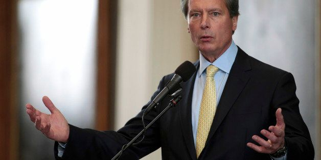 AUSTIN, TX - JULY 01: Lt. Gov. David Dewhurst in the Senate at the Texas State capitol on July 1, 2013 in Austin, Texas. This