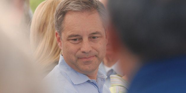 Sean Parnell was sworn in as Alaska's 10th governor at Pioneer Park in Fairbanks, Alaska, on Sunday, July 26, 2009, after Sar