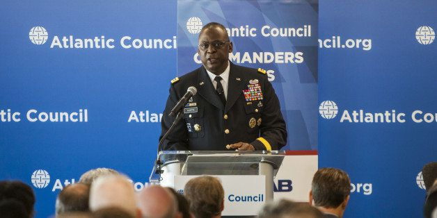 WASHINGTON, D.C. - NOVEMBER 6: U.S. Army Gen. Lloyd J. Austin, III, commander of U.S. Central Command, speaks on ISIL at the