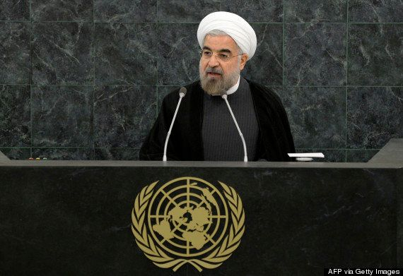 Rouhani visits New York City in September 2013, three months after his election. It is seen as a major break with his predece