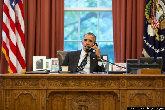 September 28 2013 - A 15-minute phone call between Obama and Rouhani is hailed as a historic moment that ends the 34-year dip