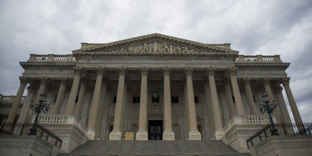 The US Senate side of the US Capitol is seen in Washington, DC, November 5, 2014. Republicans captured a majority in the US S