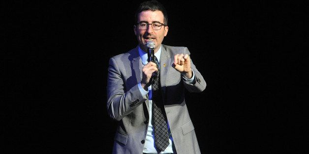 John Oliver performs at the 8th Annual Stand Up For Heroes, presented by the New York Comedy Festival and The Bob Woodruff Fo