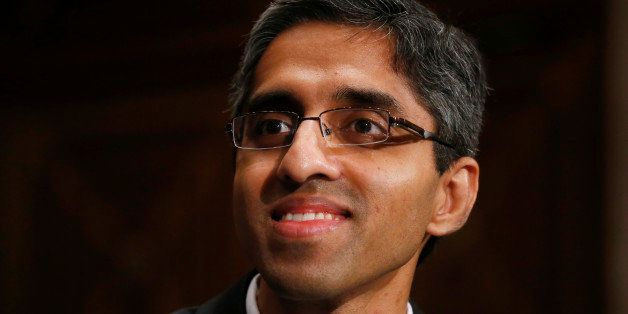 FILE - In this Feb. 4, 2014, photo, Dr. Vivek Hallegere Murthy, President Barack Obama's nominee to be the next U.S. Surgeon