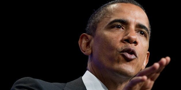 US President Barack Obama speaks on education reform at the National Urban League 100th Anniversary Convention at the Washing