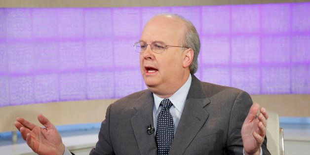 TODAY -- Pictured: Karl Rove appears on NBC News' 'Today' show  (Photo by Peter Kramer/NBC/NBCU Photo Bank via Getty Images)