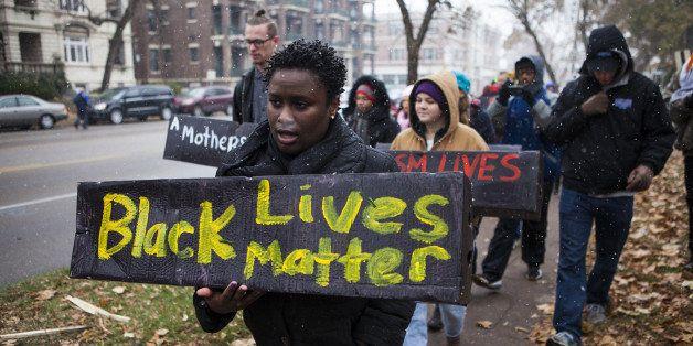 FERGUSON, MO - NOVEMBER 16:  As the U.S. town of Ferguson, Missouri, awaits a grand jury decision on whether to bring crimina