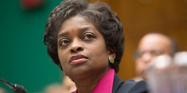 Mignon Clyburn, commissioner at the Federal Communications Commission (FCC), listens during a House Energy and Commerce Subco