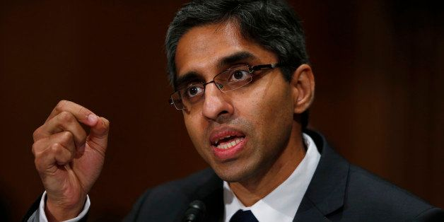 Dr. Vivek Hallegere Murthy, President Barack Obama's nominee to be the next U.S. Surgeon General, testifies on Capitol Hill i