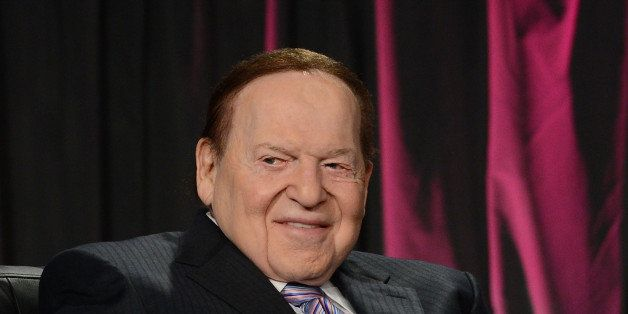 LAS VEGAS, NV - OCTOBER 01:  Chairman & CEO Las Vegas Sands Corp., Sheldon Adelson speaks at the Exclusive Seminar: Keynote a